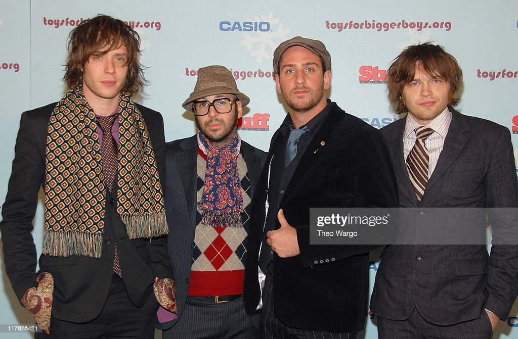 OK Go during Stuff Magazine Toys for Bigger Boys - Red Carpet at Hammerstein Ballroom in New York City, New York, United States.