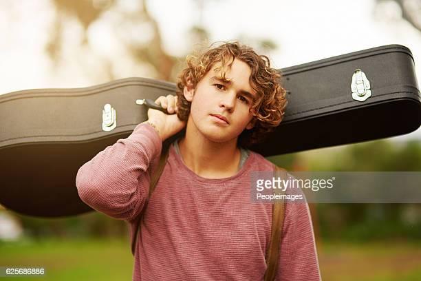 I go everywhere with my guitar