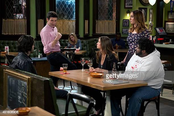 UNDATEABLE Go for Gary Episode 112 Pictured Chris D'Elia as Danny Brent Morin as Justin Bianca Kajlich as Leslie Eva Amurri Martino as Sabrina Ron...