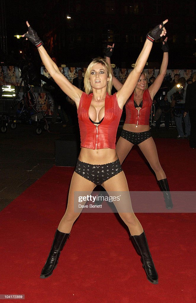 Go Go Dancers, Robbie Williams What We Did Last Summer, Knebworth Dvd Premiere, At The Odeon, Leicester Square, London