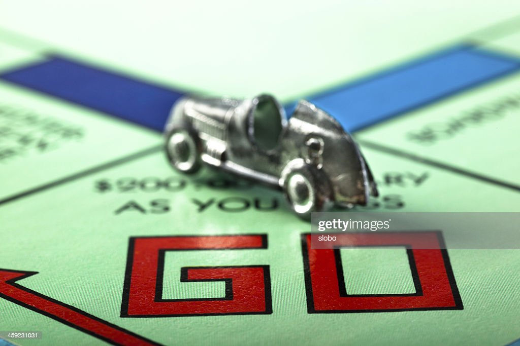 Go Monopoly : Stock Photo