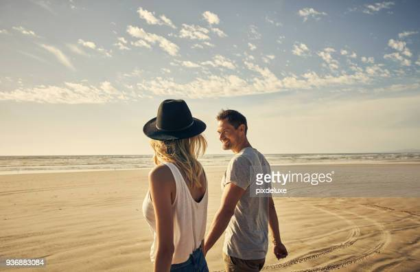 go wherever gets your smile going - beach stock pictures, royalty-free photos & images