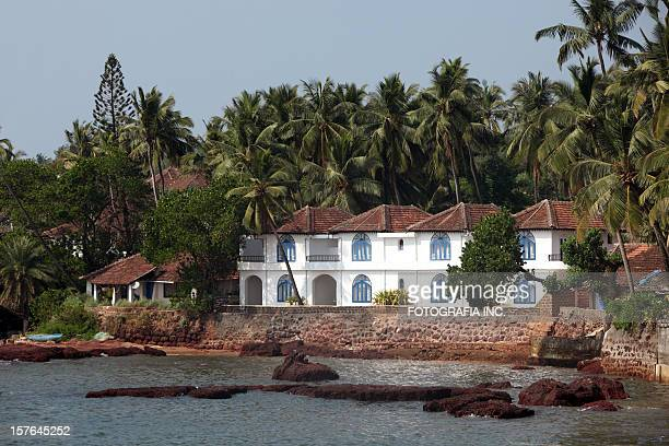Goa resort on beach