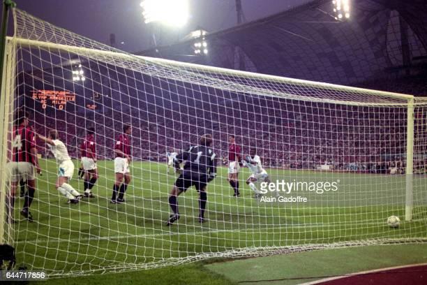 Goal Basile BOLI Milan AC / Marseille Finale de la Ligue des Champions 1993 Photo Alain Gadoffre / Icon Sport