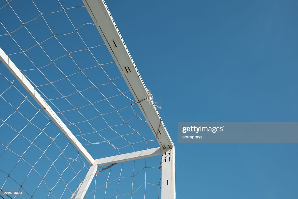 Goal blue sky : Stock Photo