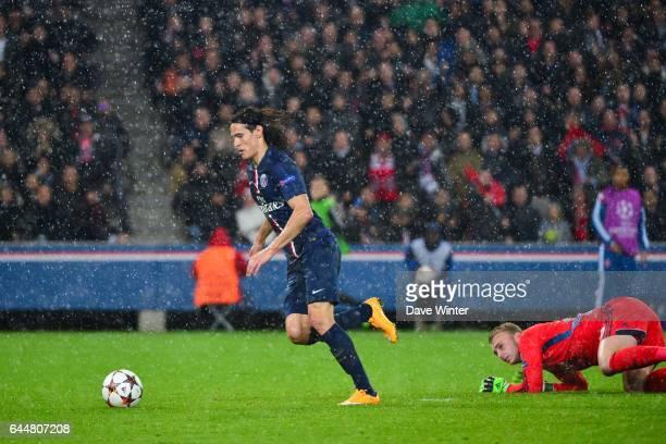 Goal Edinson CAVANI / Jasper CILLESSEN Paris Saint Germain / Ajax Amsterdam Champions League Photo Dave Winter / Icon Sport