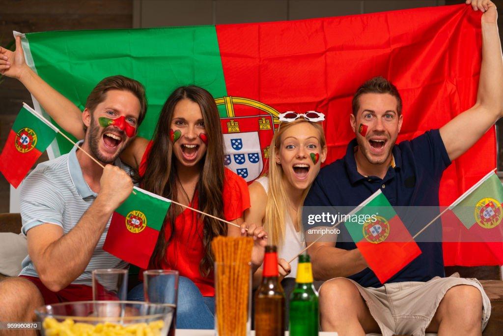 Ziel für portugal : Stock-Foto