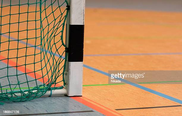 goal indoor - handball stock pictures, royalty-free photos & images