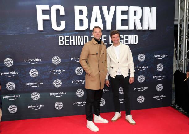 """DEU: """"FC Bayern – Behind the Legend"""" Premiere In Munich"""