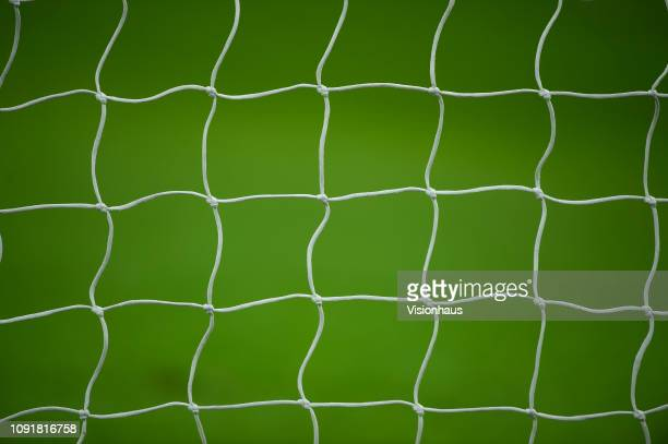 Goal net during the Carabao Cup Semi-Final between Tottenham Hotspur and Chelsea at Wembley Stadium on January 8, 2019 in London, England.