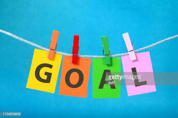 goal - clothespin stock pictures, royalty-free photos & images