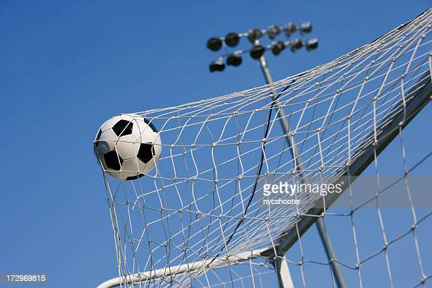 goal - netting stock pictures, royalty-free photos & images