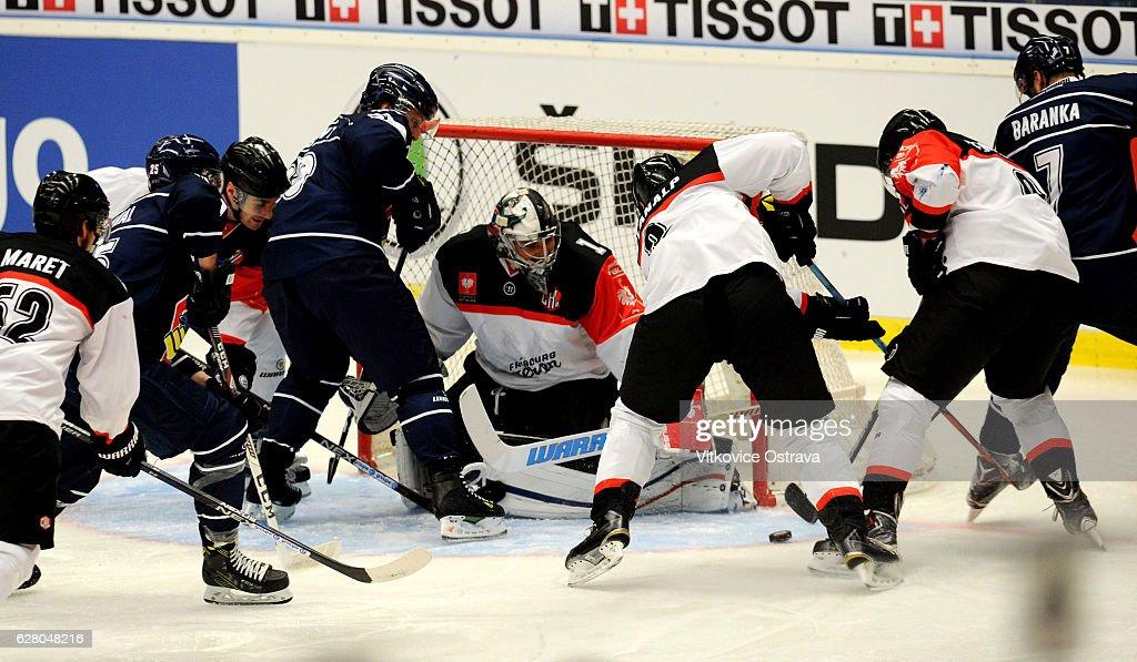 CZE: Vitkovice Ridera Ostrava v Fribourg-Gotteron - Champions Hockey League
