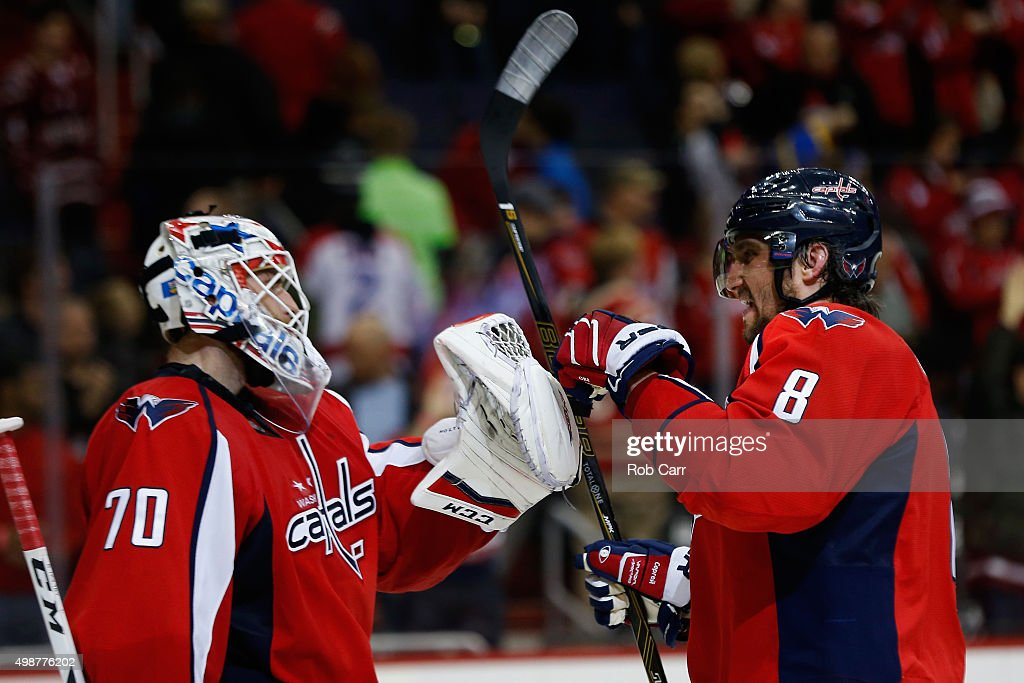 Winnipeg Jets v Washington Capitals : News Photo