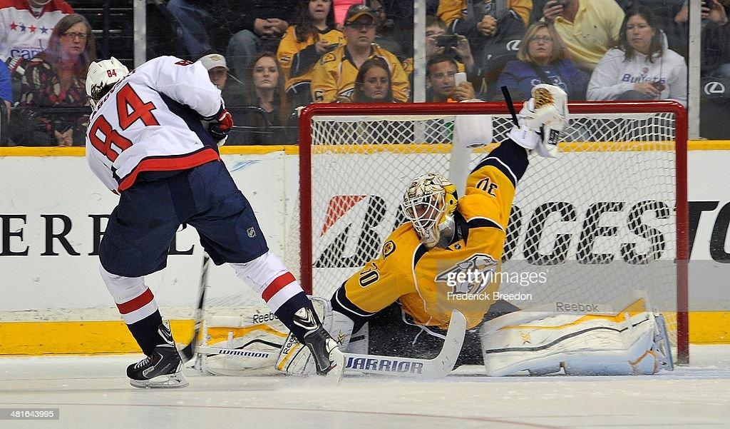 Washington Capitals v Nashville Predators : News Photo