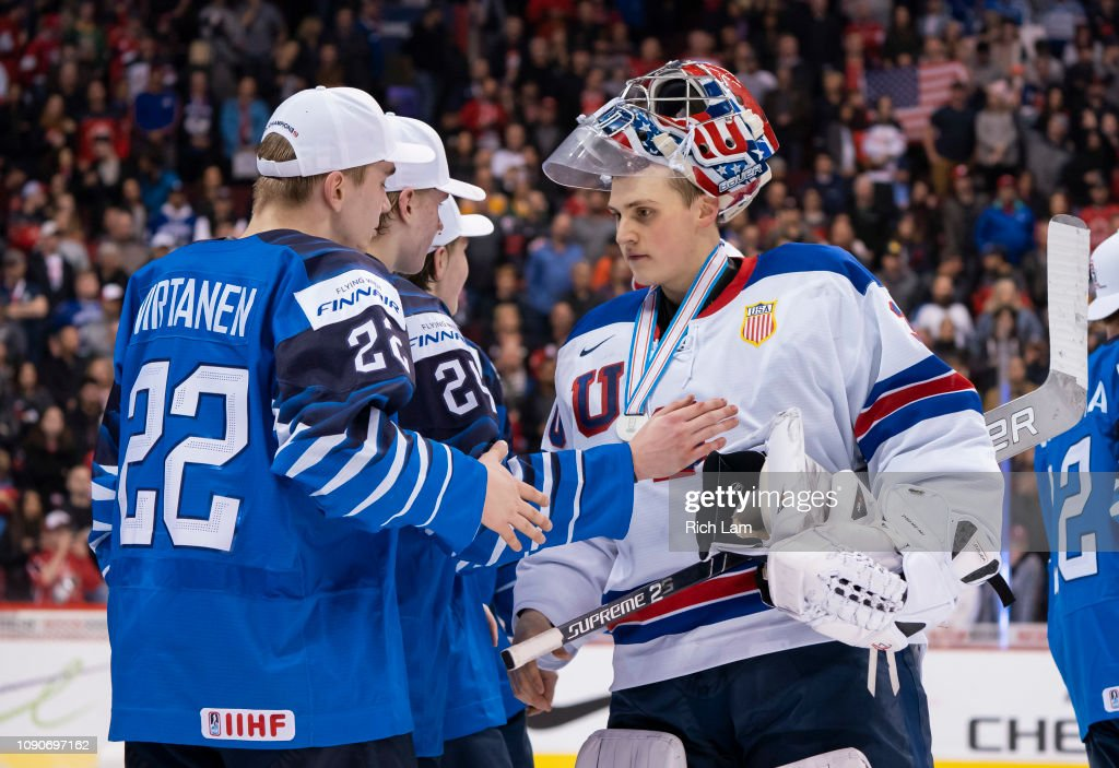Finland v United States: Gold Medal Game - 2019 IIHF World Junior Championship : News Photo