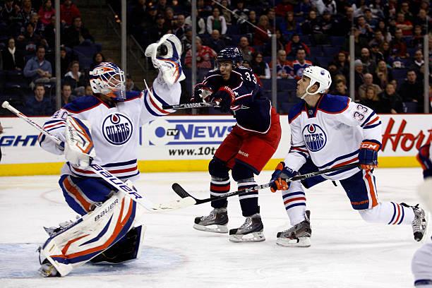 Edmonton Oilers v Columbus Blue Jackets