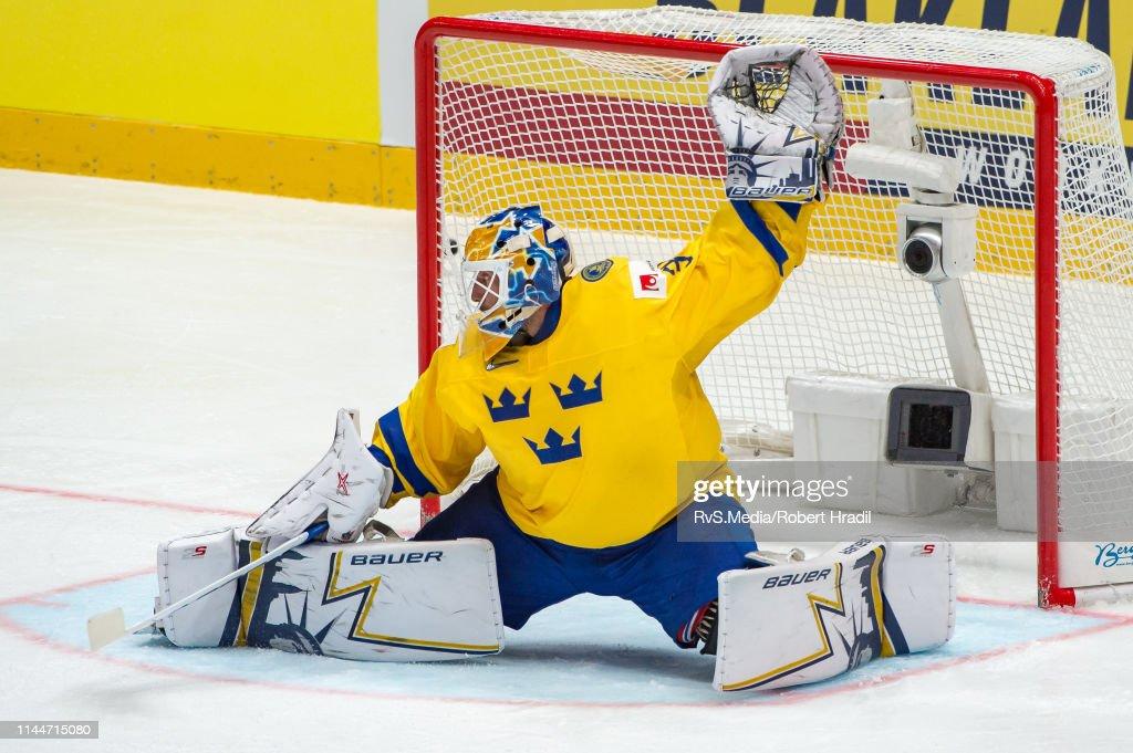 Sweden v Switzerland: Group B - 2019 IIHF Ice Hockey World Championship Slovakia : News Photo