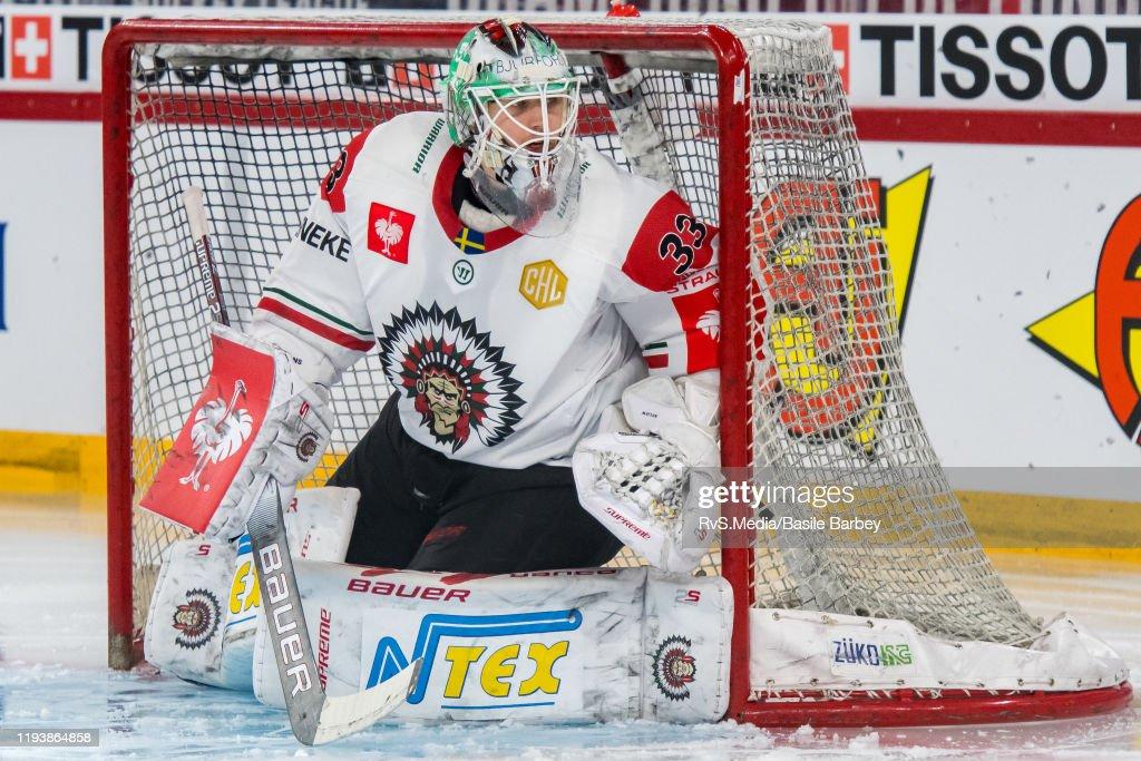EHC Biel-Bienne v Frolunda HC - Champions Hockey League : News Photo
