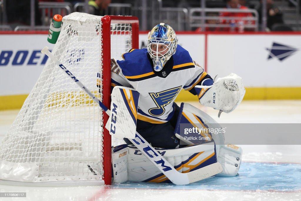 St Louis Blues v Washington Capitals : News Photo