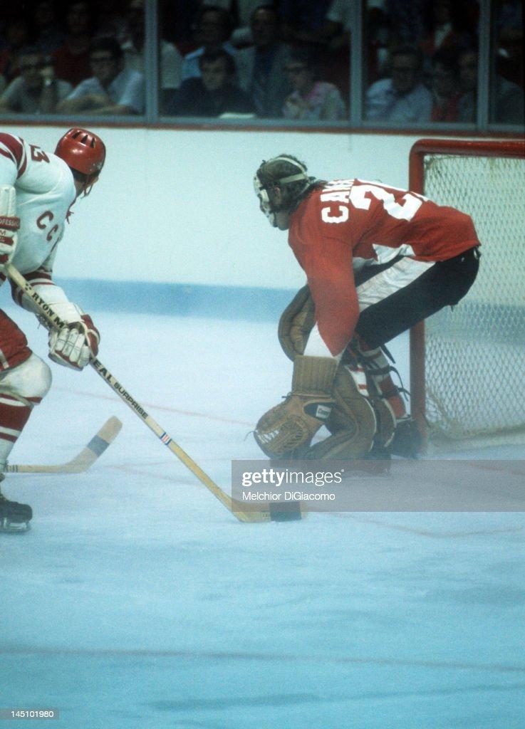 1972 Summit Series - Game 1: Soviet Union v Canada : News Photo