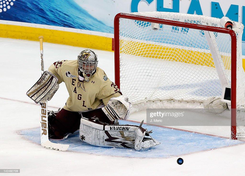 2012 NCAA Division I Men's Hockey Championships - Semifinals : News Photo