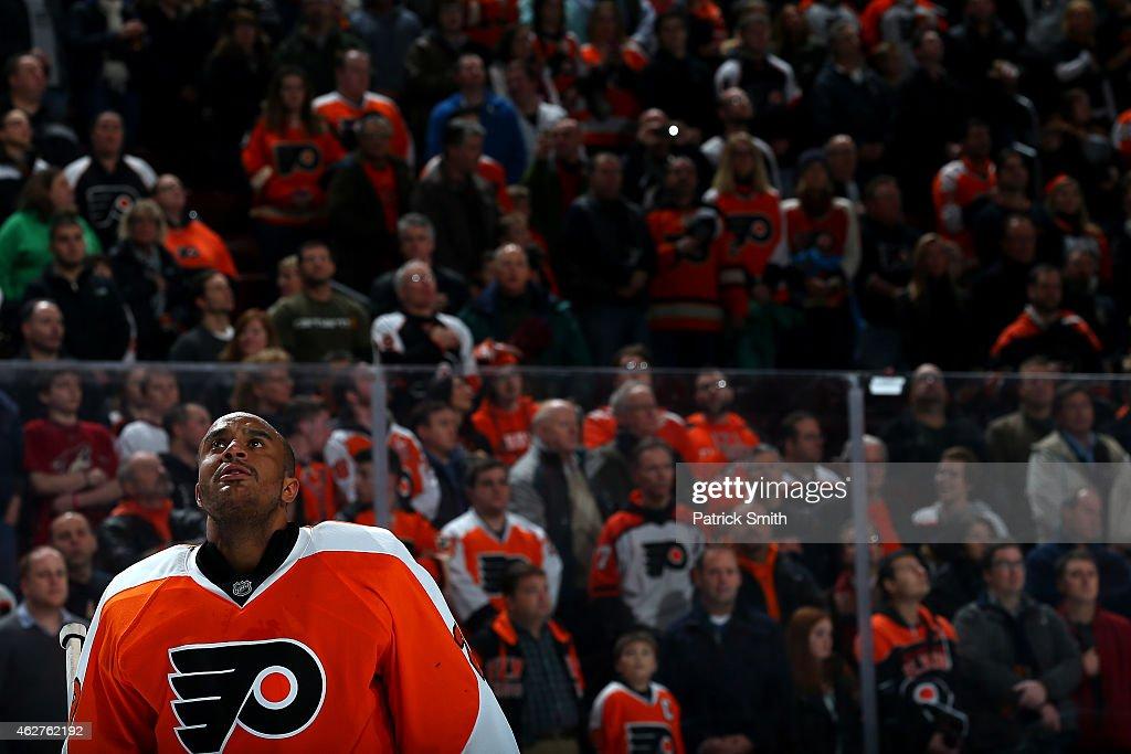 Arizona Coyotes v Philadelphia Flyers : News Photo