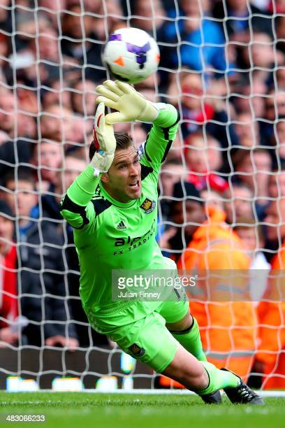 Goalkeeper Adrian of West Ham fails to stop Steven Gerrard of Liverpool scoring his team's second goal from the penalty spot during the Barclays...