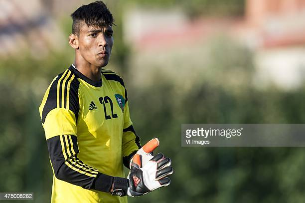 goalkeeper Ahmed Reda Tagnaouti of Morocco U21 during the Festival International Espoirs de Football tournament match between Netherlands U21 and...