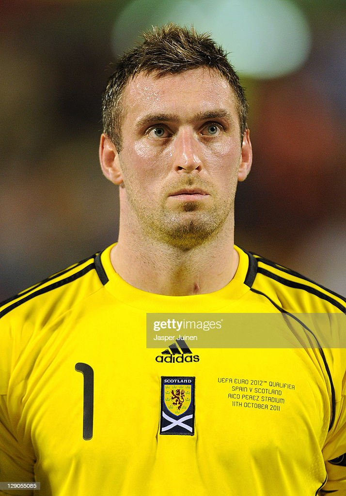 Spain v Scotland - EURO 2012 Qualifier : News Photo
