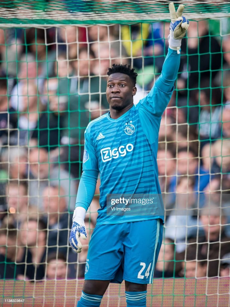 "Dutch Eredivisie""FC Groningen v Ajax"" : News Photo"