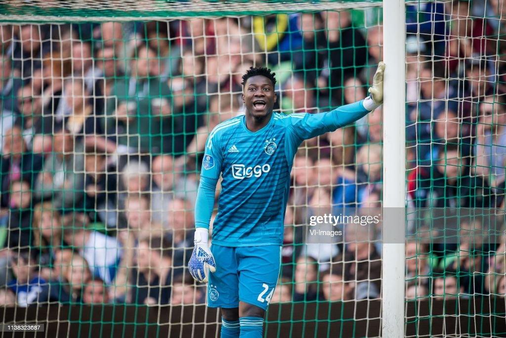 "Dutch Eredivisie""FC Groningen v Ajax"" : Fotografia de notícias"