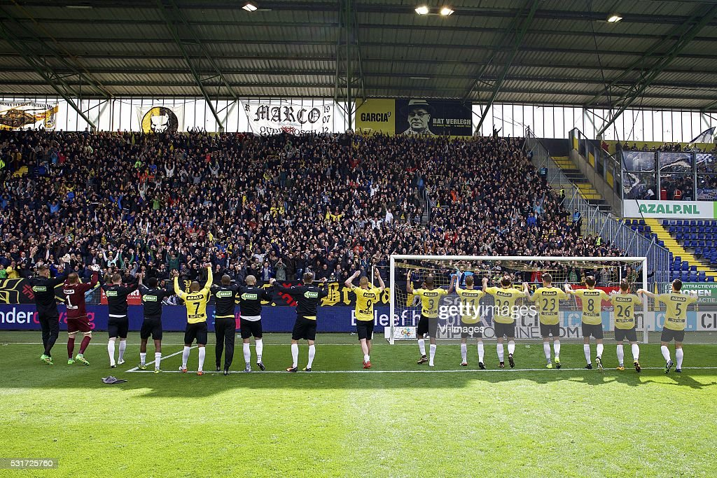"play-offs promotion/relegation - ""NAC Breda v FC Eindhoven"" : News Photo"