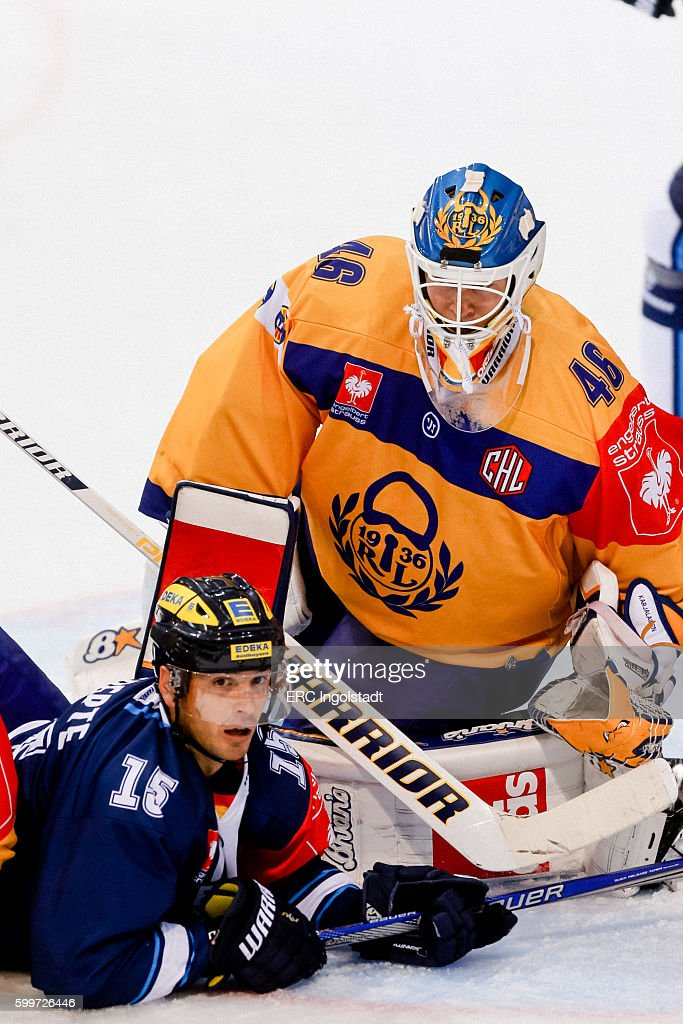 ERC Ingolstadt v Lukko Rauma - Champions Hockey League : News Photo