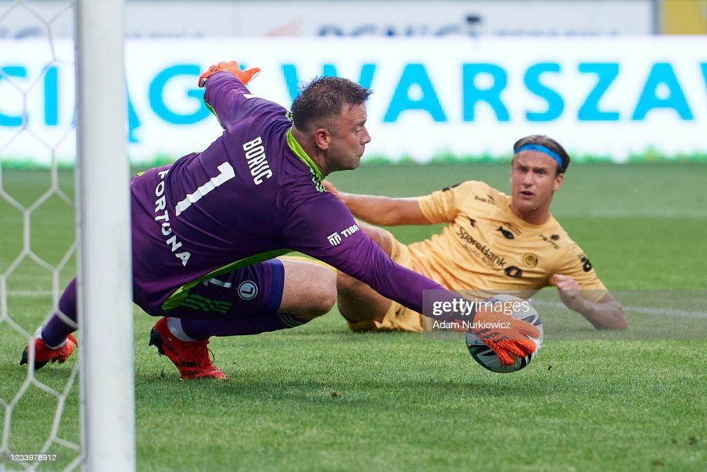 Legia Warsaw v Bodo/Glimt - UEFA Champions League 2021/22 First Qualifying Round Second Leg : News Photo