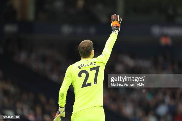 Goalkeeper Artur Boruc of AFC Bournemouth during the Premier League match between West Bromwich Albion and AFC Bournemouth at The Hawthorns on August...