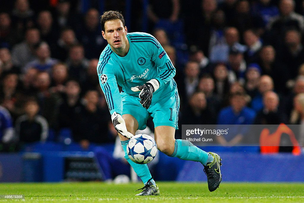 Goalkeeper Asmir Begovic Of Chelsea During The Champions
