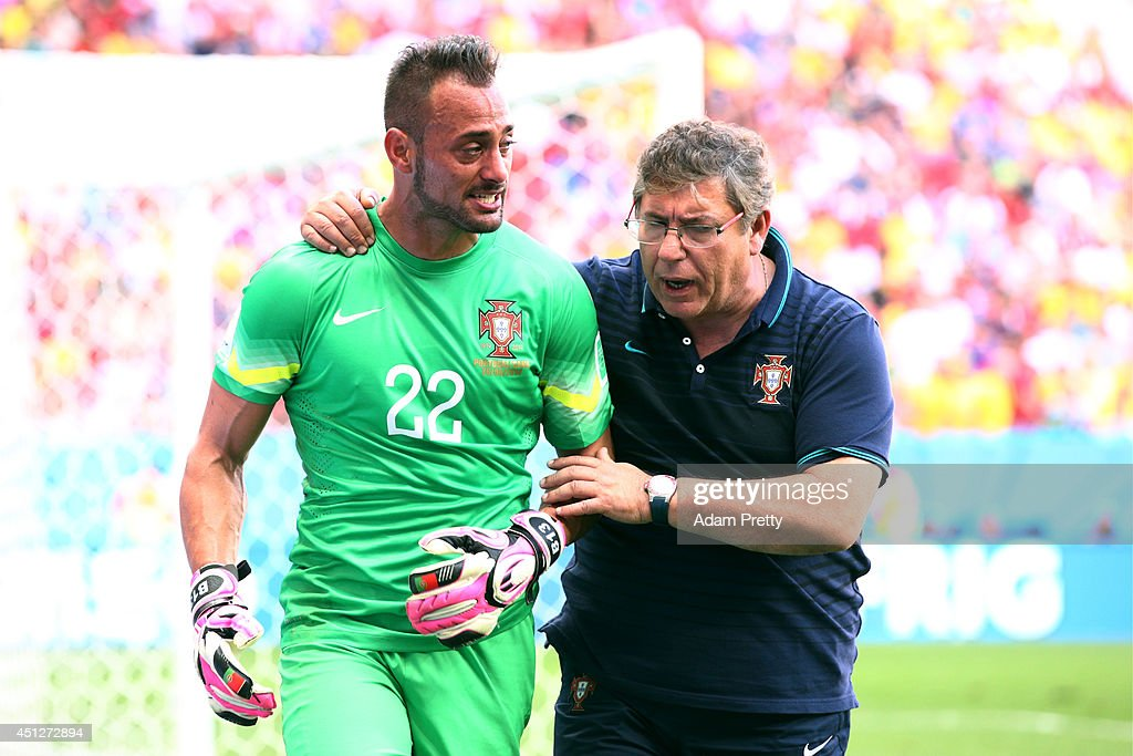 Portugal v Ghana: Group G - 2014 FIFA World Cup Brazil : News Photo