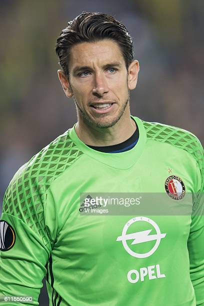 goalkeeper Brad Jones of Feyenoordduring the UEFA Europa Leaguegroup A match between Fenerbahce and Feyenoord Rotterdam on September 29 2016 at the...
