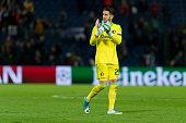 rotterdam netherlands goalkeeper brad jones rotterdam
