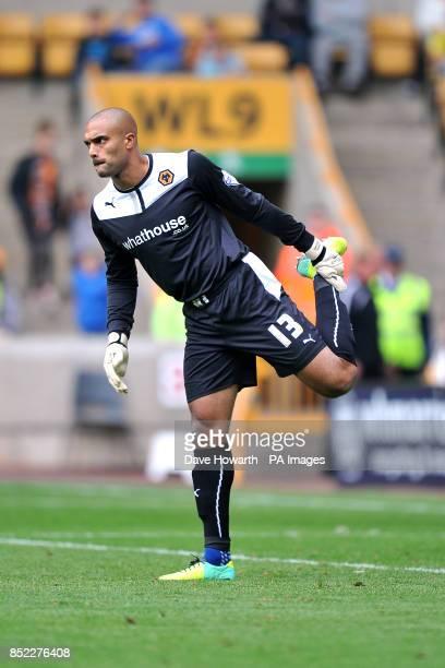 Goalkeeper Carl Ikeme Wolverhampton Wanderers