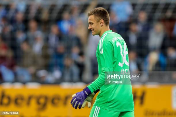 goalkeeper Christian Fruechtl of Bayern Muenchen looks on during the match between TSV 1860 Muenchen and Bayern Muenchen II at Stadion an der...