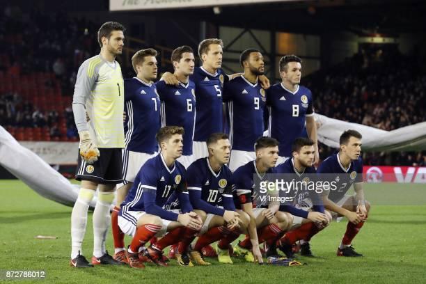goalkeeper Craig Gordon of Scotland James Forrest of Scotland Kenny McLean of Scotland Christophe Berra of Scotland Matt Phillips of Scotland John...