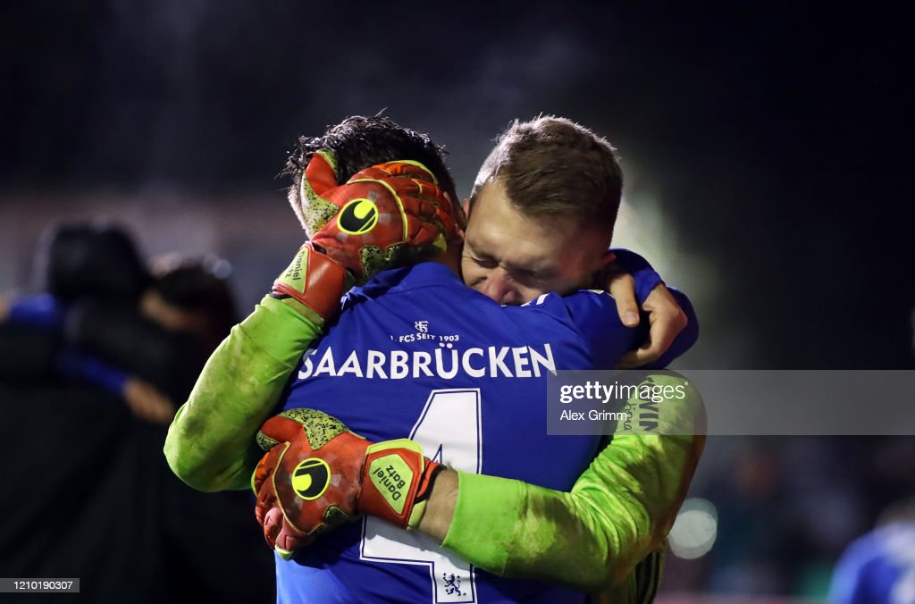1. FC Saarbruecken v Fortuna Duesseldorf - DFB Cup : News Photo