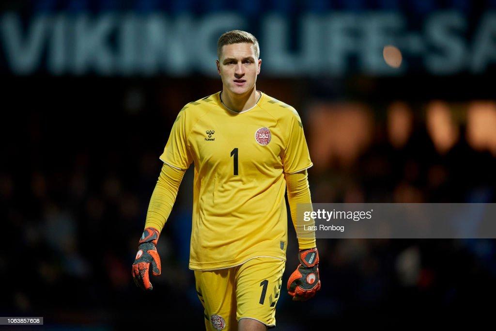 Denmark U21 vs England U21 - International Friendly Under-21 : Foto jornalística