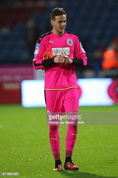 Goalkeeper Danny Ward of Huddersfield Town during the Sky Bet Championship match between Huddersfield Town and Rotherham United at Galpharm Stadium...