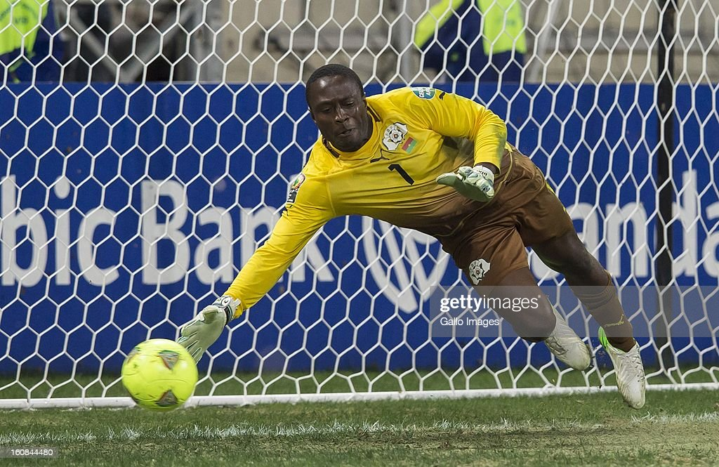 Goalkeeper Daouda Diakite of Burkina Faso (Goal keeper) during the 2013 Orange African Cup of Nations 2nd Semi Final match between Burkina Faso and Ghana at Mbombela Stadium on February 06, 2013 in Nelspruit, South Africa.