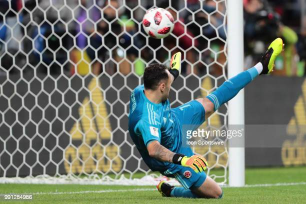 goalkeeper David Ospina of Colombia during the Round of 16 2018 FIFA World Cup soccer match between Colombia and England on July 3 at Spartak Stadium...