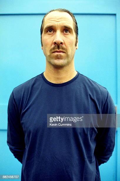 Goalkeeper David Seaman of Manchester City FC circa 2003