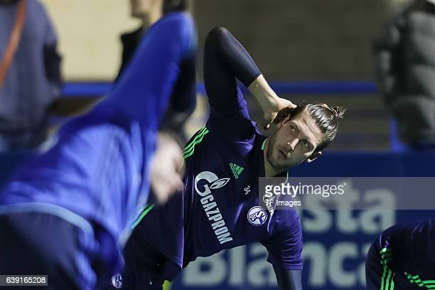 Goalkeeper Fabian Giefer of Schalke during the Training Camp of FC Schalke 04 at Hotel Melia Villaitana on January 04, 2017 in Benidorm, Spain.